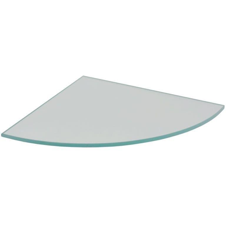 Duraline Glass Corner Shelf